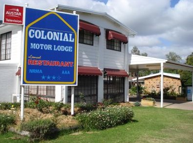Colonial Motor Lodge - Tourism Adelaide