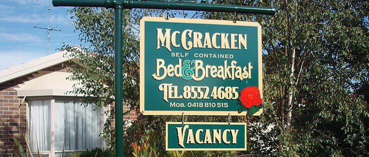 Mc Cracken Bed and Breakfast - Tourism Adelaide