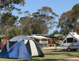 BIG4 Moruya Heads Easts at Dolphin Beach Holiday Park