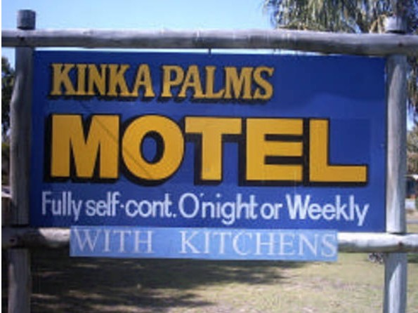 Kinka Palms Beachfront Apartments / Motel