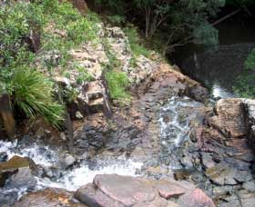 Gypsy Falls Waterfall   Retreat - Tourism Adelaide