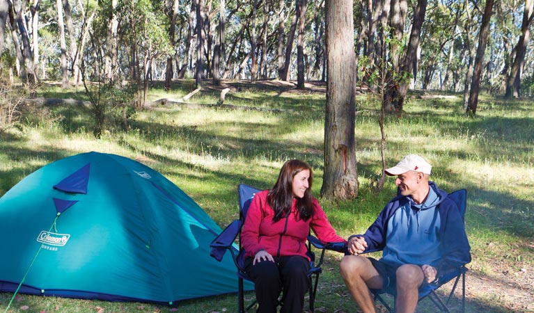 Apsley Falls campground - Tourism Adelaide
