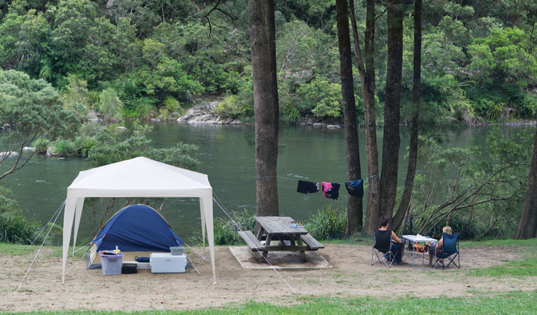 Platypus Flat campground - Tourism Adelaide