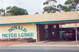DONALD MOTOR LODGE - Tourism Adelaide