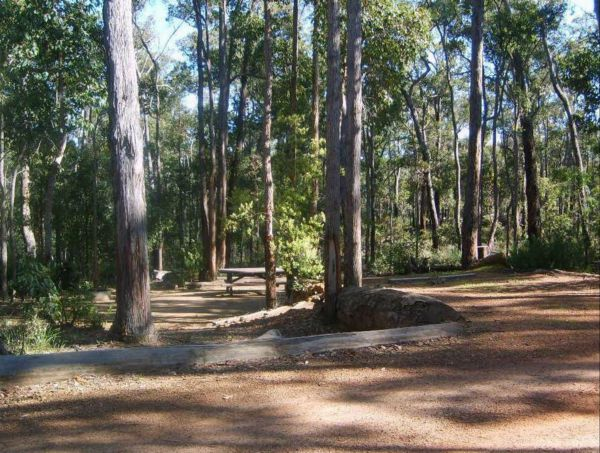 Barrabup Camp at St John Brook National Park