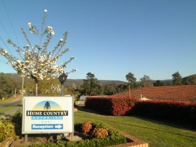 Hume Country Motor Inn - Tourism Adelaide