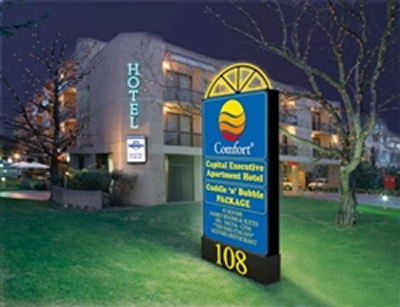 Comfort Capital Executive Apartment Hotel - Tourism Adelaide