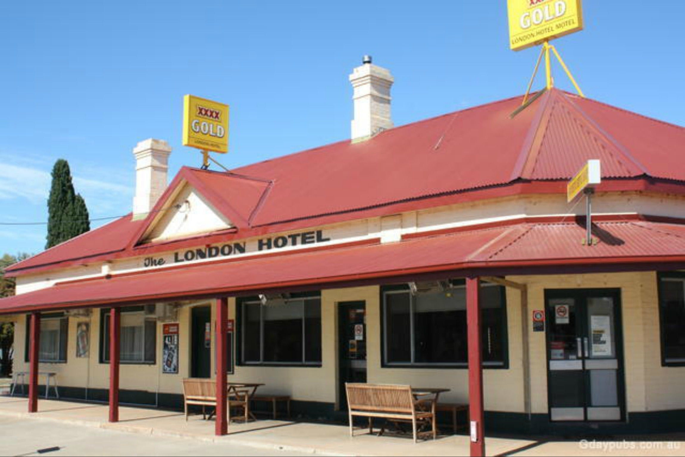 The London Hotel Motel - Tourism Adelaide