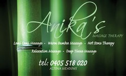 Anikas Massage Therapy - Tourism Adelaide