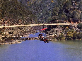 Launceston Cataract Gorge  Gorge Scenic Chairlift - Tourism Adelaide