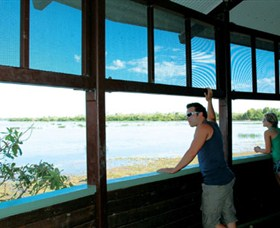 Mamukala Wetlands and Bird Hide - Tourism Adelaide