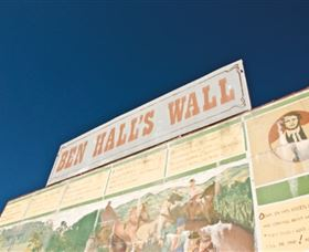 Ben Hall Wall - Tourism Adelaide