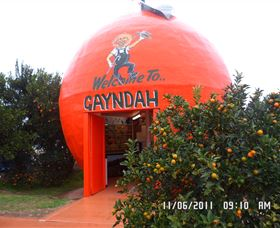 Gayndahs Big Orange - Tourism Adelaide
