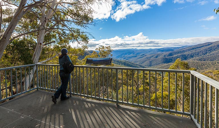 Wallace Creek lookout - Tourism Adelaide