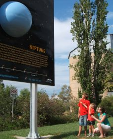Worlds Largest Virtual Solar System Drive - Tourism Adelaide