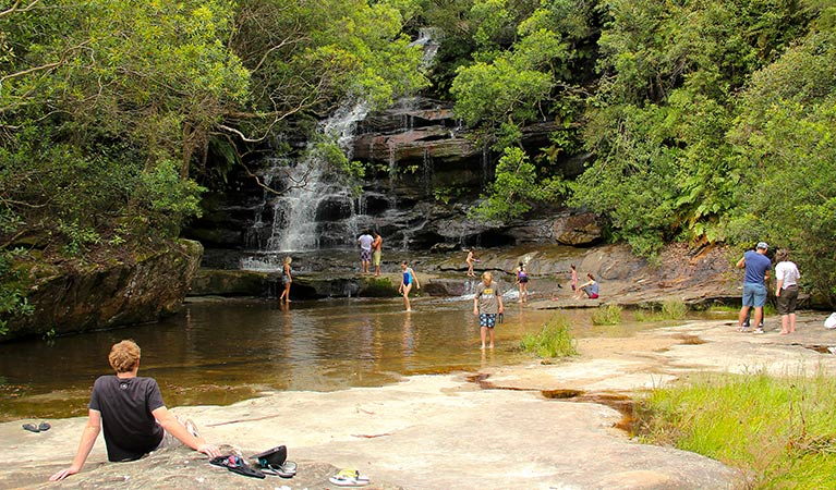 Somersby Falls picnic area - Tourism Adelaide