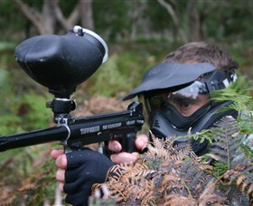 Tactical Paintball Games - Tourism Adelaide