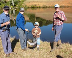 Natone Hills Fly Fishery - Tourism Adelaide