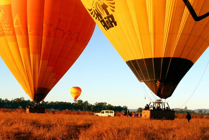 Hot Air Balloon Scenic Rim - Tourism Adelaide