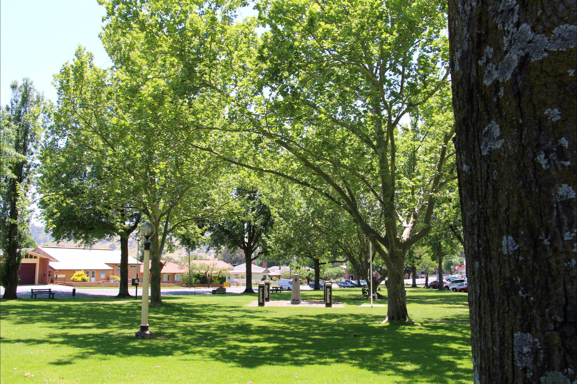 Tallangatta Triangles Park - Tourism Adelaide