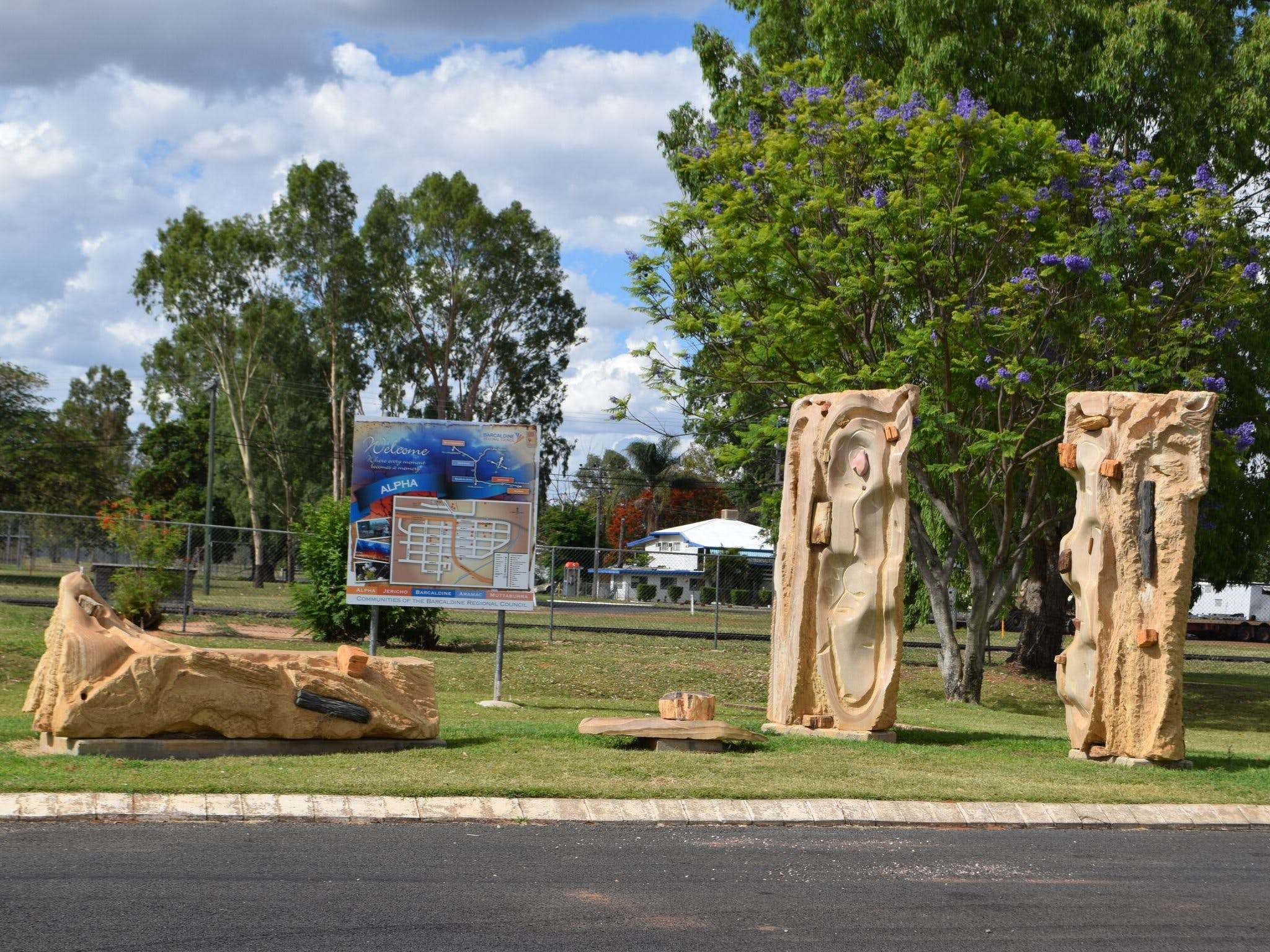 The Fossilised Forest Sculpture - Tourism Adelaide