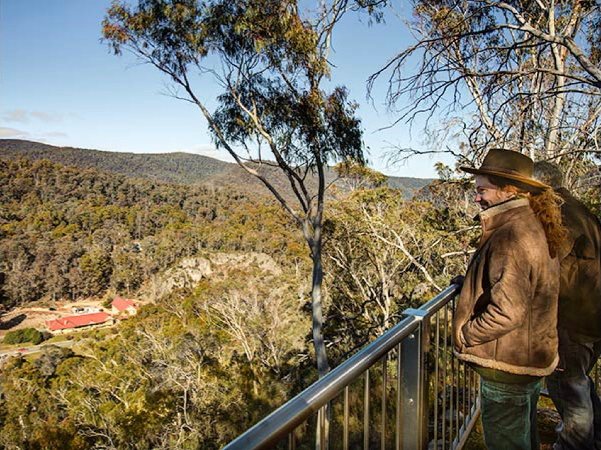 Yarrangobilly Caves  Bluff lookout walk - Tourism Adelaide