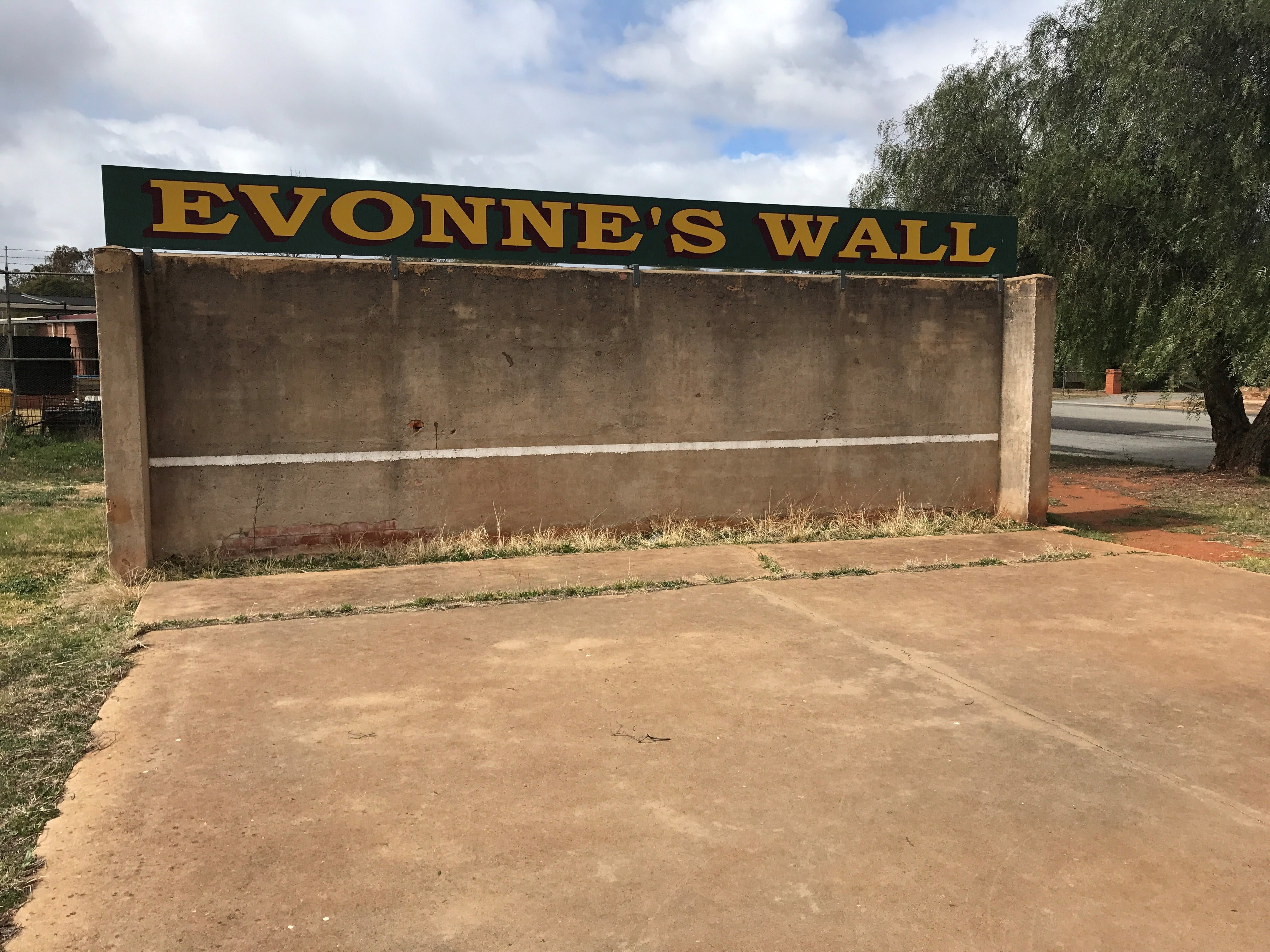 Evonne Goolagong-Cawley Wall - Tourism Adelaide