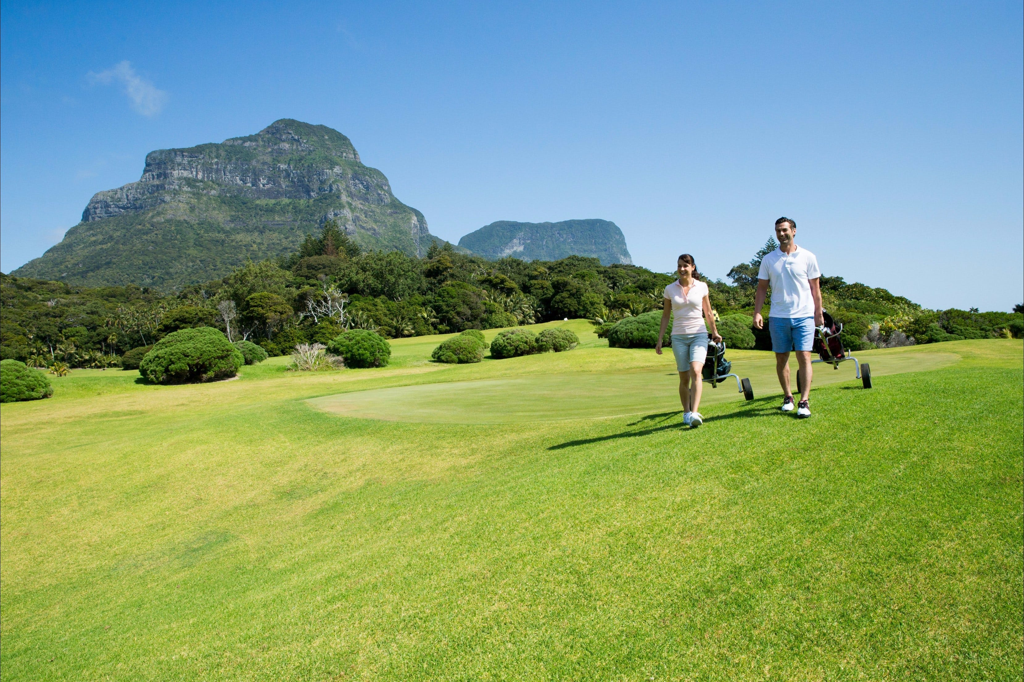 Lord Howe Island Golf - Tourism Adelaide
