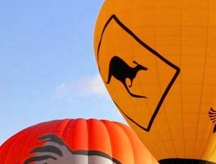 Hot Air Balloon - Tourism Adelaide