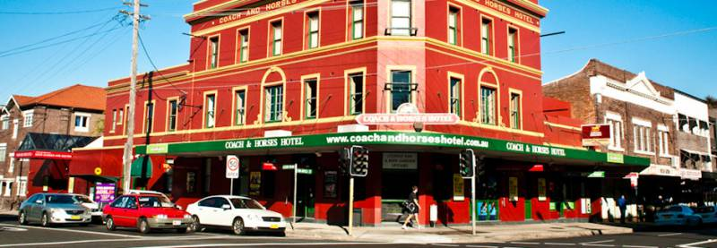 The Coach  Horses Hotel - Tourism Adelaide
