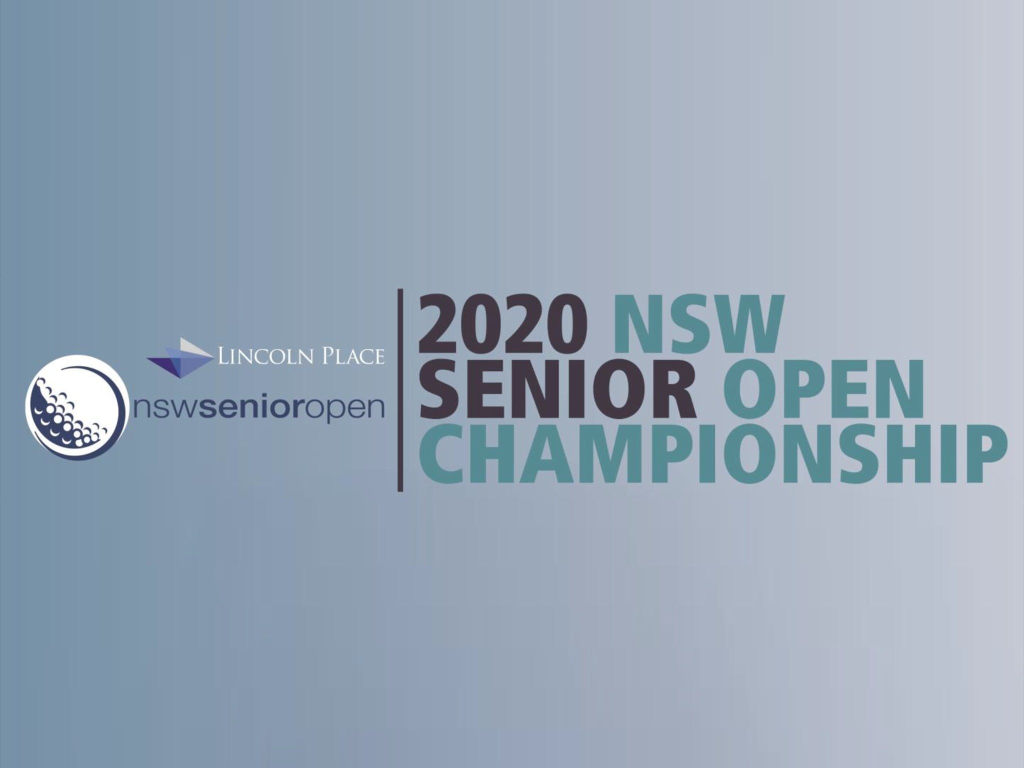 Men's NSW Senior Open - Tourism Adelaide