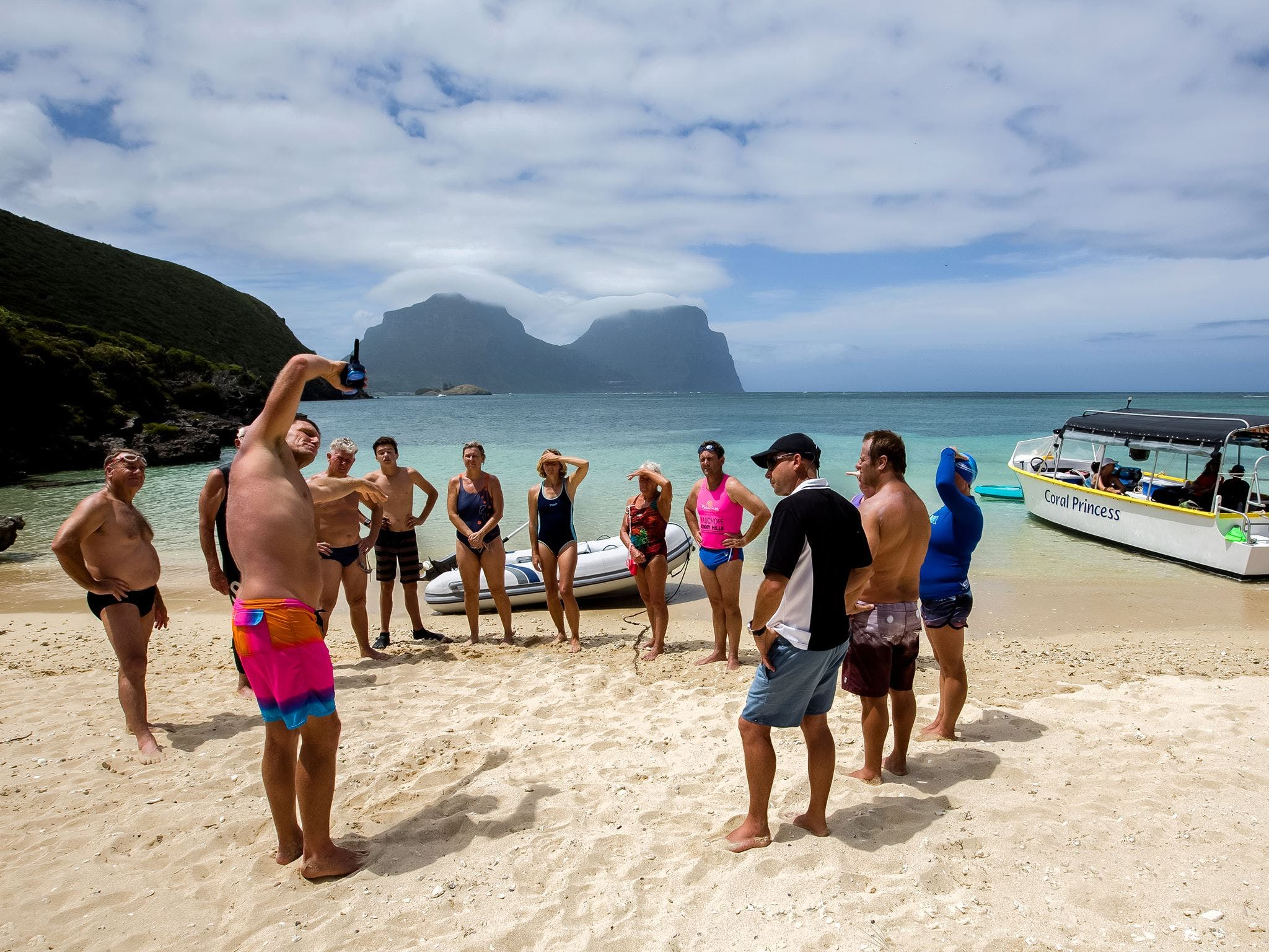 Ocean Swim Week with Trevor Hendy Pinetrees Lord Howe Island - Tourism Adelaide