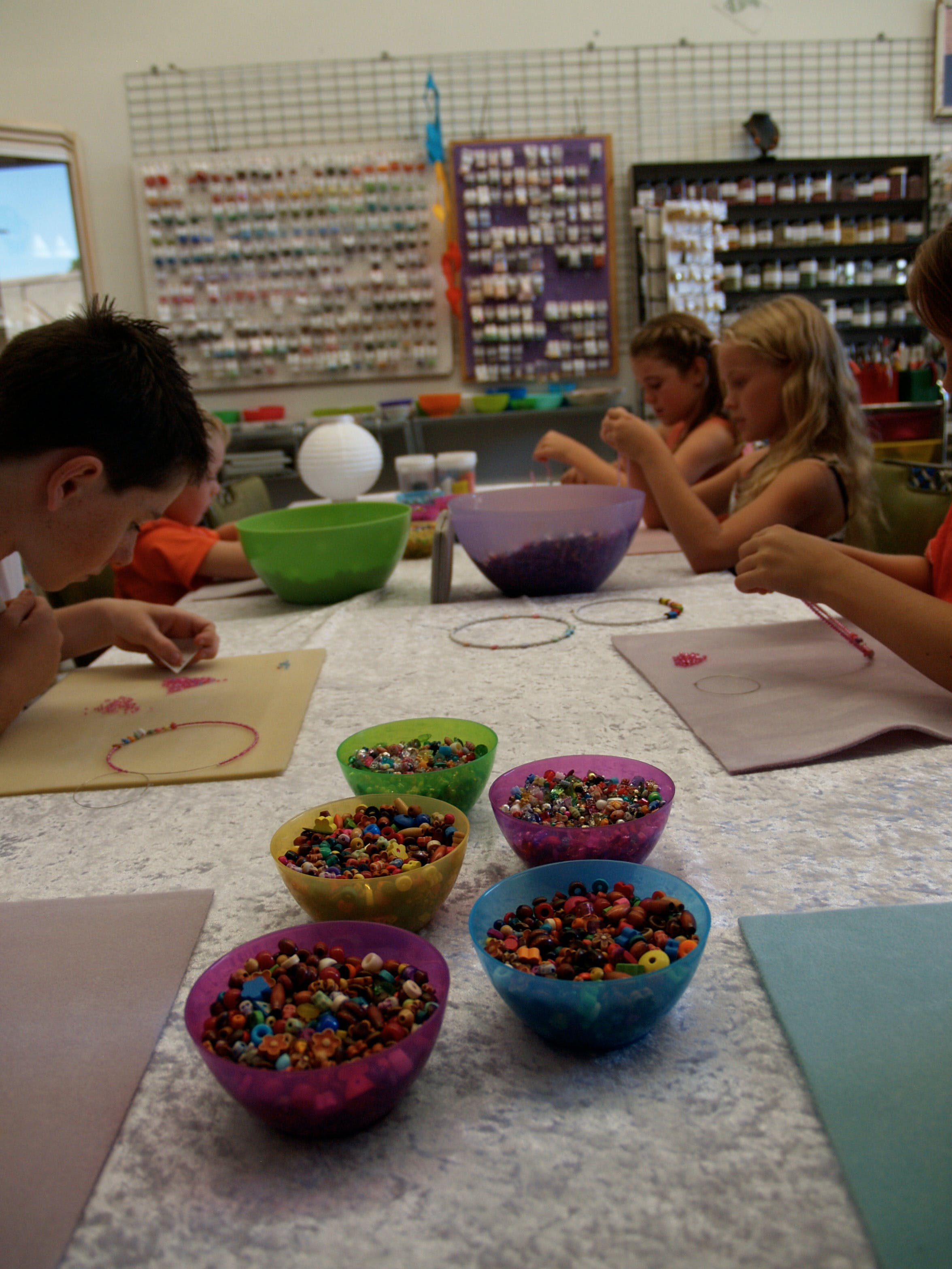School Holiday One Hour Beading Workshops - Tourism Adelaide
