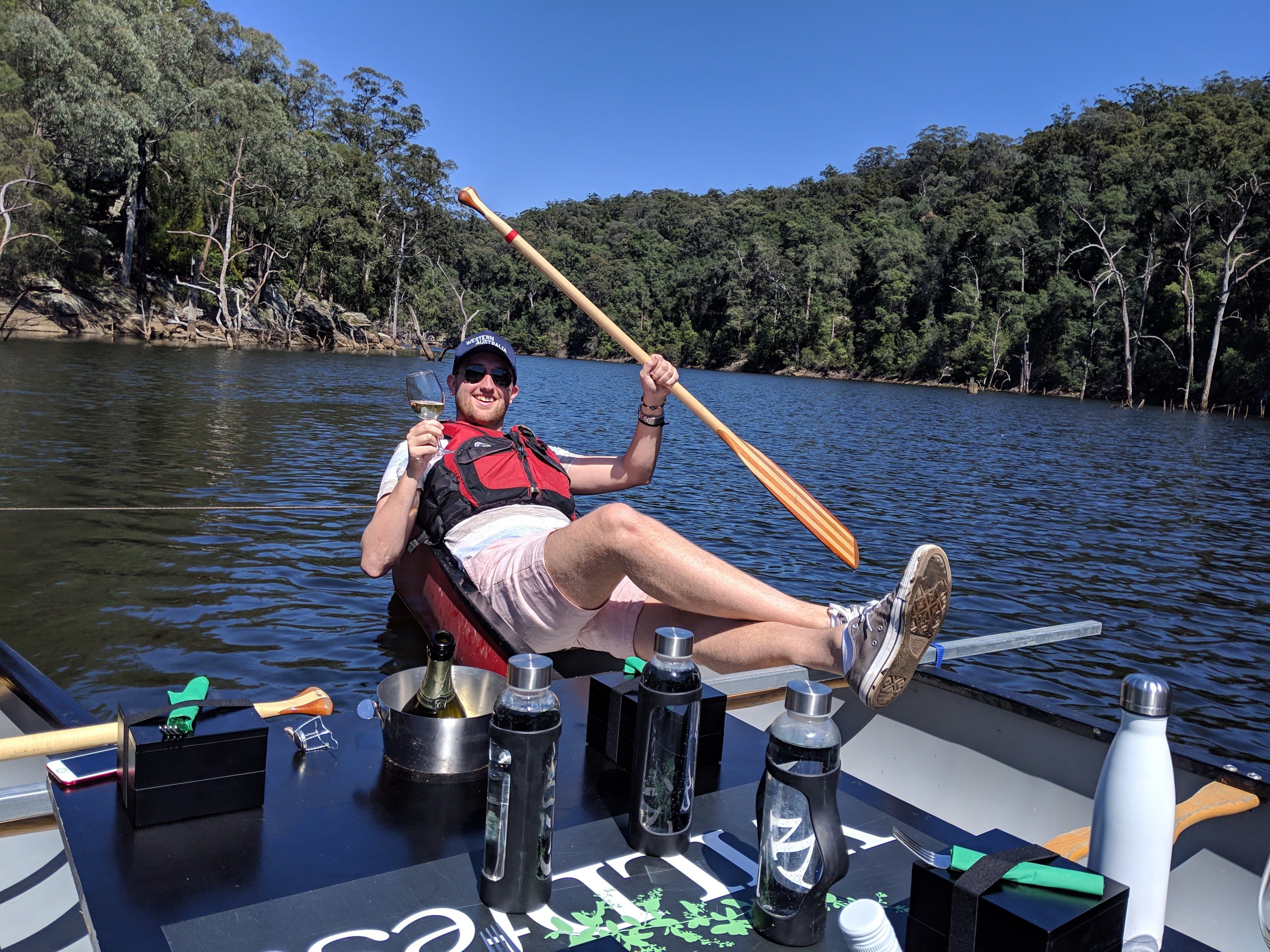 Canoes Champagne and Canaps - Tourism Adelaide