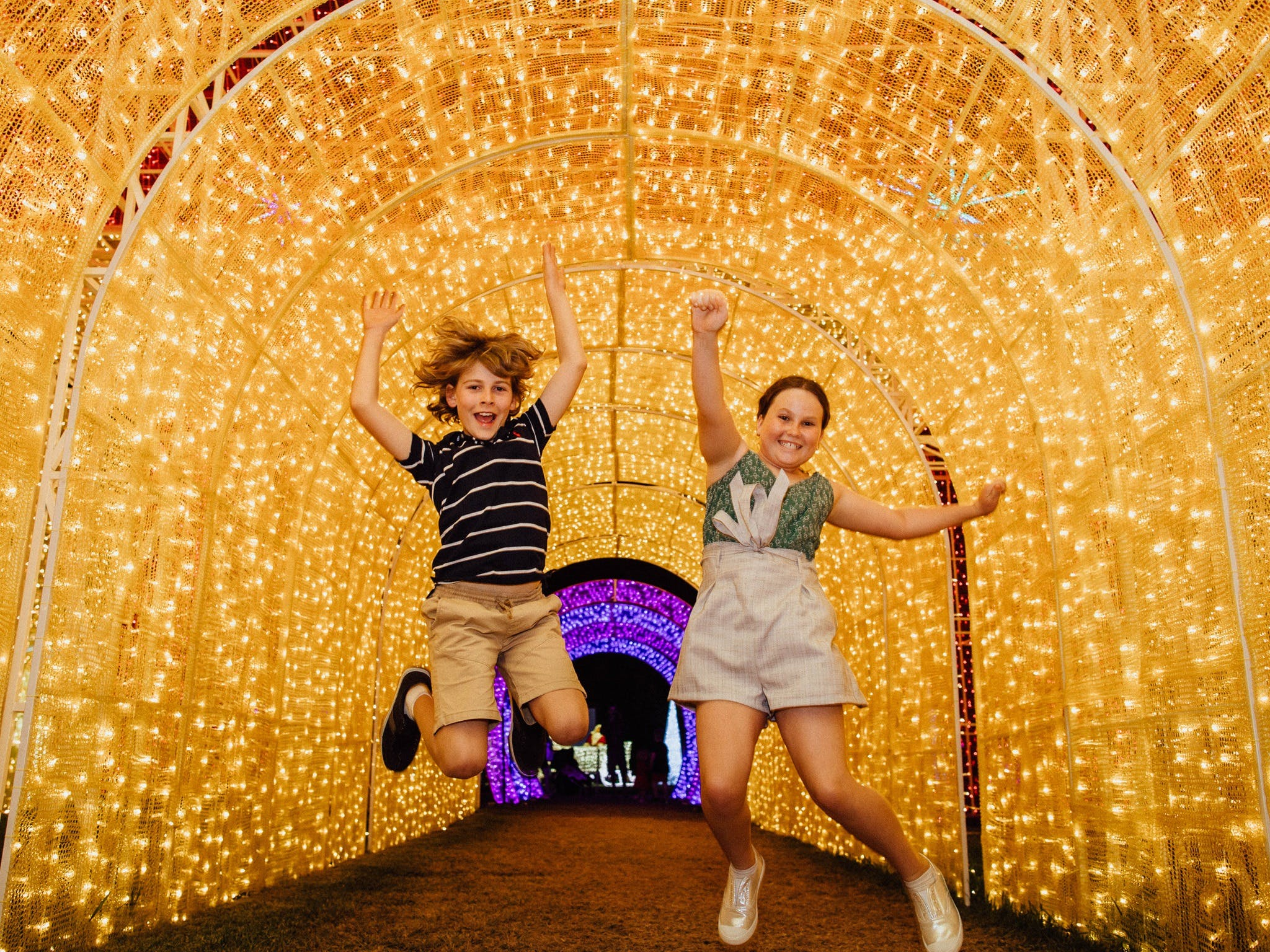 Christmas Lights Spectacular New Year's Eve at Hunter Valley Gardens - Tourism Adelaide
