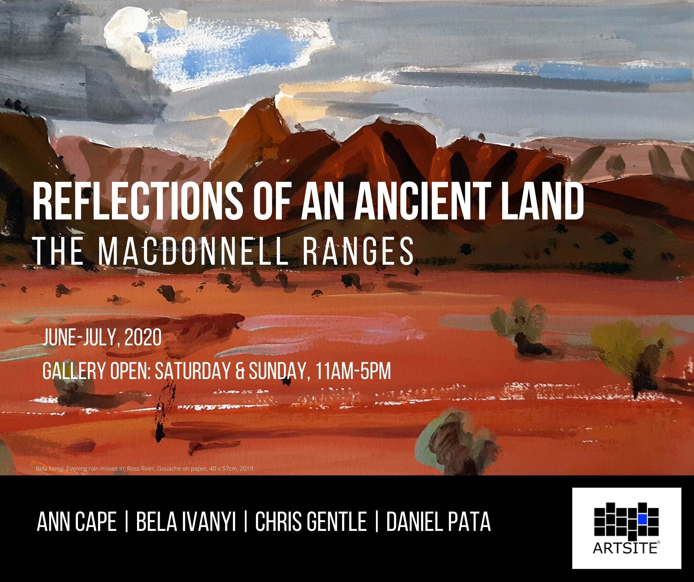 Reflections of An Ancient Land The MacDonnell Ranges - Tourism Adelaide